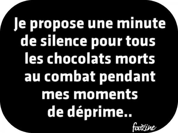 Une minute c'est pas assez ! Le chocolat est un art de vivre et pas que dans les moments de déprime qu'on se le dise !