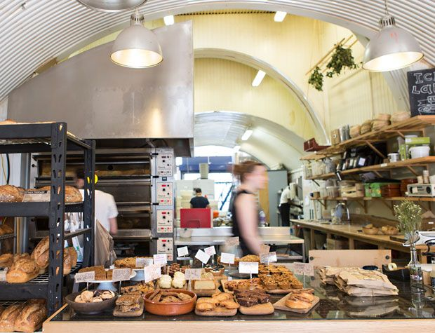 E5 Bakehouse, E8 3PH is an artisanal bakery in the railway arches next to London Fields station. I went to a bread making class there and learned. Great deal about baking. But you should go there to sample their excellent ciabattas, sourdough and cakes