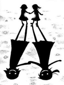 Soul Eater. Maka and Crona.