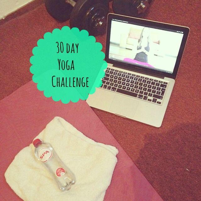 Let's do the 30 day yoga challenge! 30 dagen yoga uitdaging om thuis yoga oefeningen te doen!