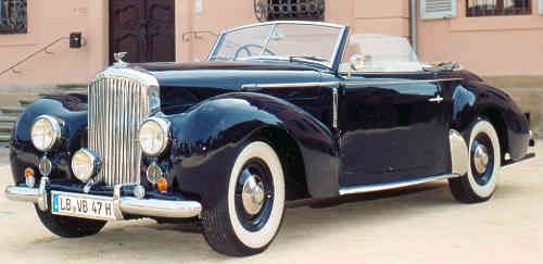 1947 Bentley Mark VI, Graber Drophead Coupé