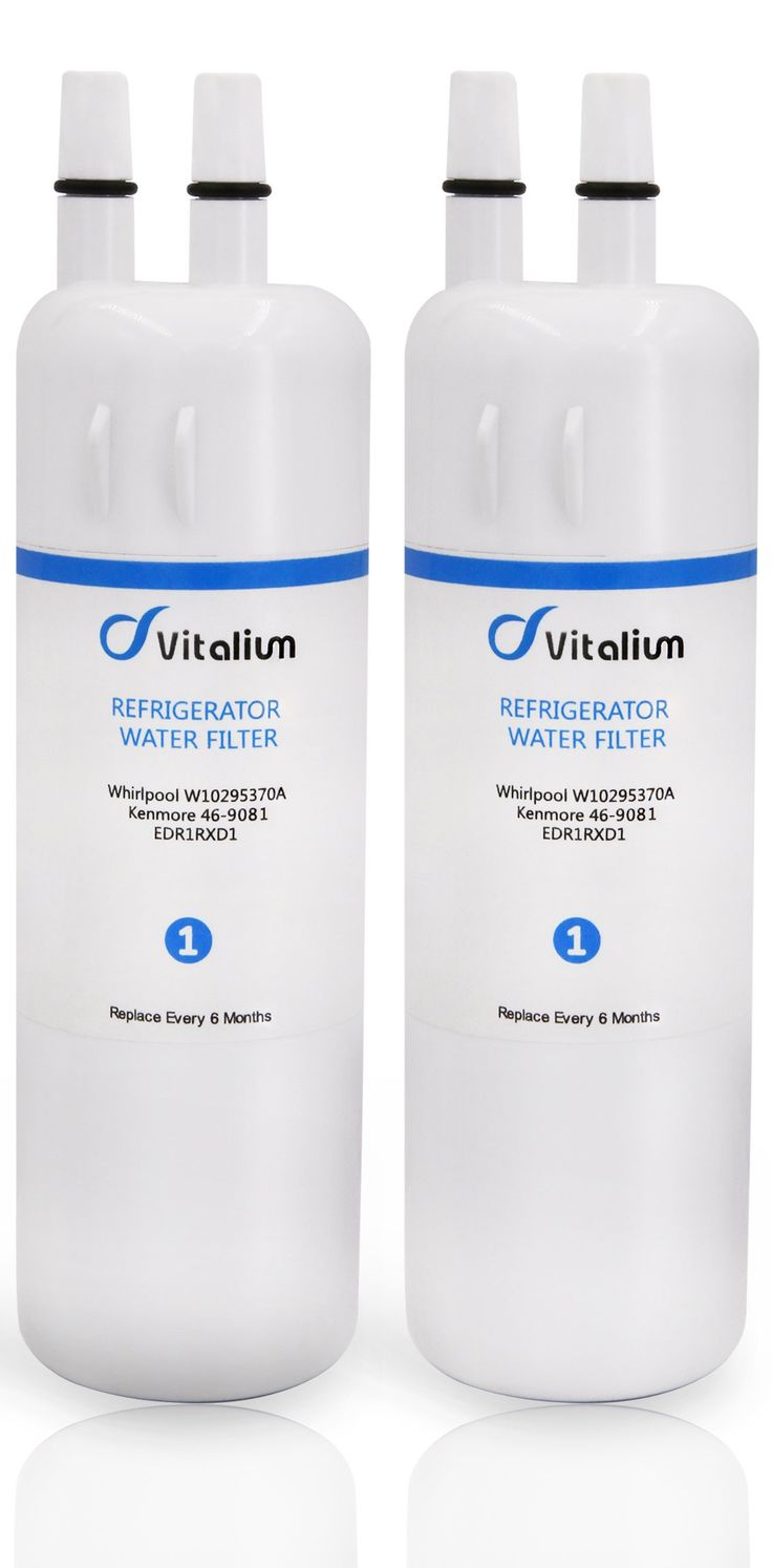 Refrigerator Water Filter W10295370A W10295370 EDR1RXD1, Replacement for Kenmore 46-9081 Kenmore 46-9930 Pur Water Filter W10295370A P4RFWB(2 Packs)
