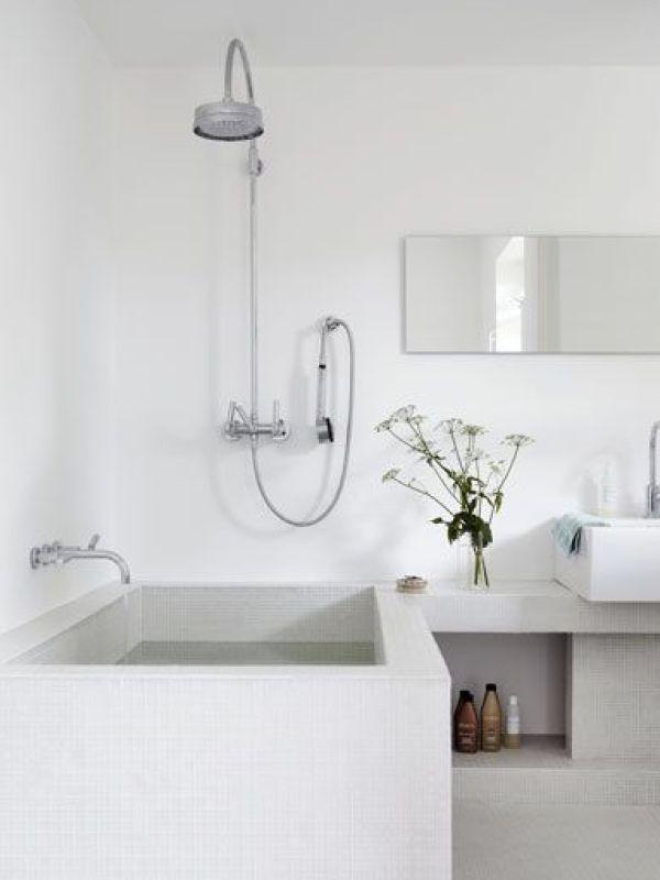 10 best idee n over scandinavische badkamer op pinterest toiletruimte minimalistische - Originele toilet decoratie ...