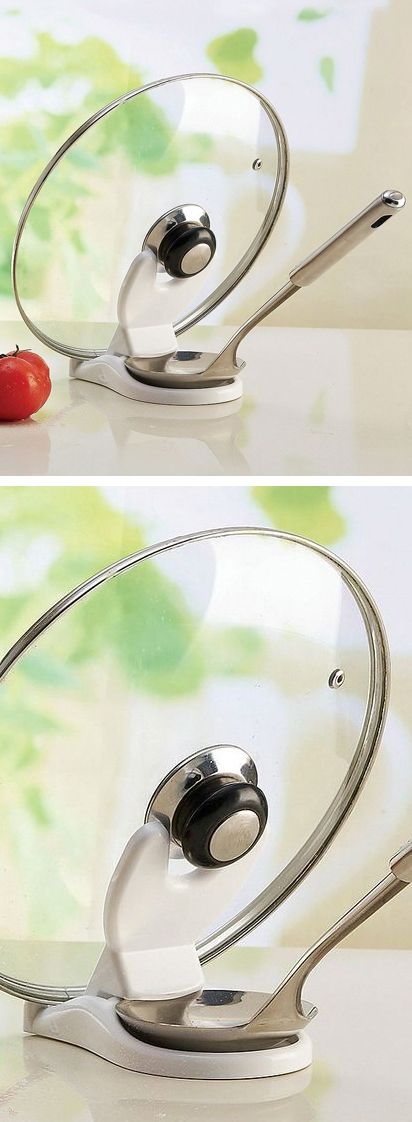 Lid/Spoon Rest // need this in my kitchen