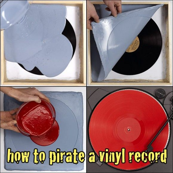 51 Best Lp Record Crafts Uses Images On Pinterest Vinyl