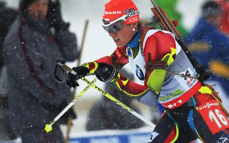 ČESKÝ TRIUMF PO DEVÍTI LETECH. Gabriela Soukalová vyhrála sprint Světového poháru ve slovinské Pokljuce.