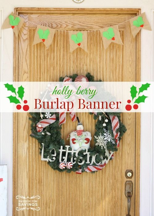 Homemade Christmas Decorations With Holly : Images about christmas gift ideas on
