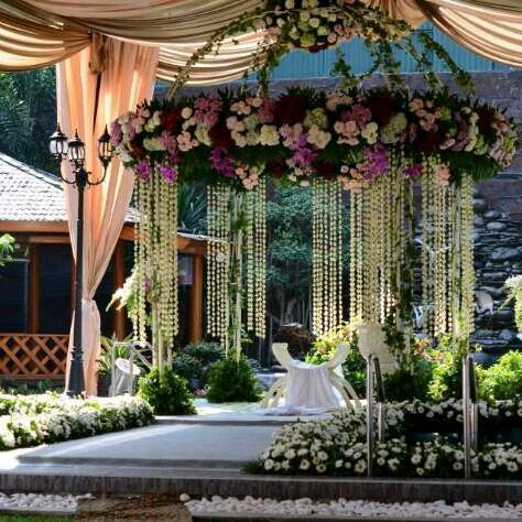 Dome Siraman #wedding #decoration