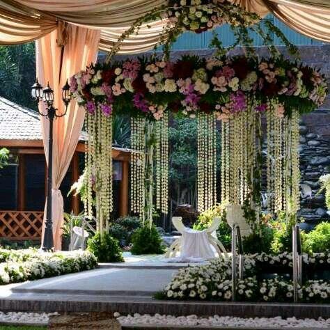 Dome Siraman #wedding #decoration