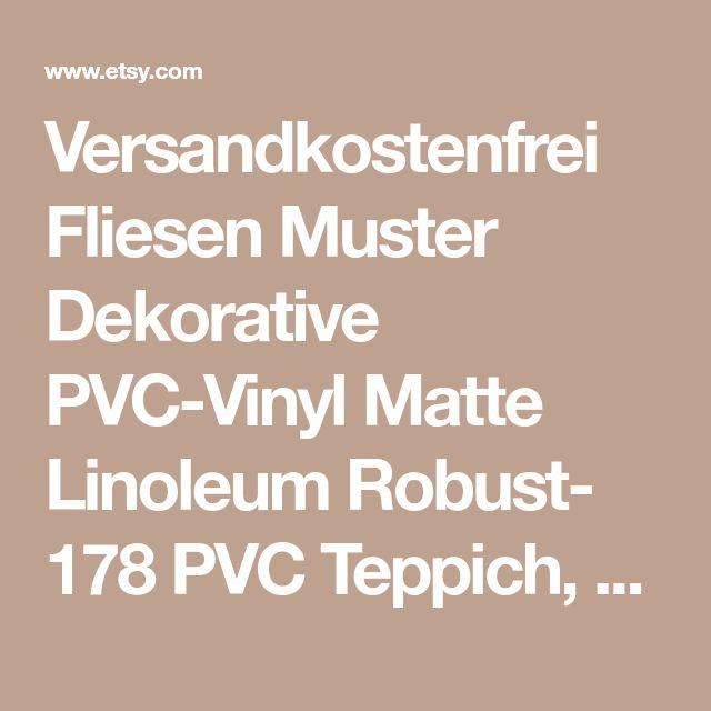 Versandkostenfrei Fliesen Muster Dekorative PVC-Vinyl Matte Linoleum Robust- 178 PVC Teppich, Küche Mat