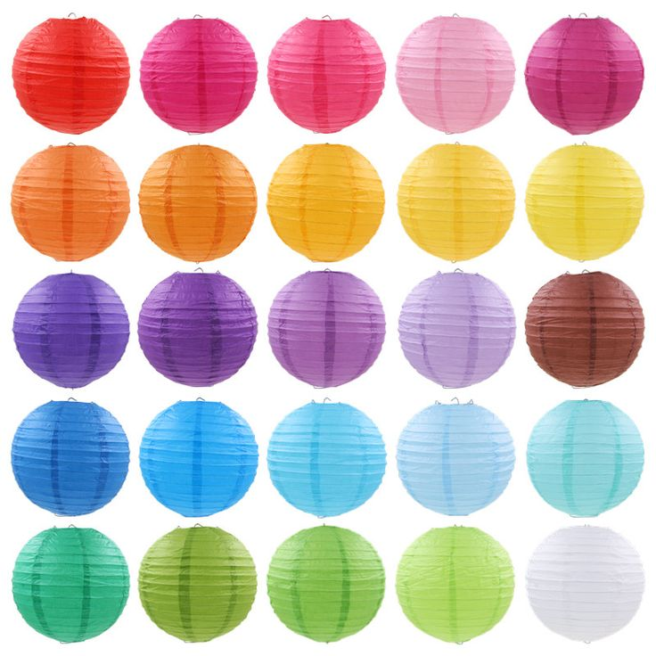 Cheap craft sculpture, Buy Quality craft goods directly from China gifts lingerie Suppliers:                  10pcs Hot Sale Multicolor 50CM 20 inch Round Chinese Paper Lantern for Birthday Wedding Party Deco