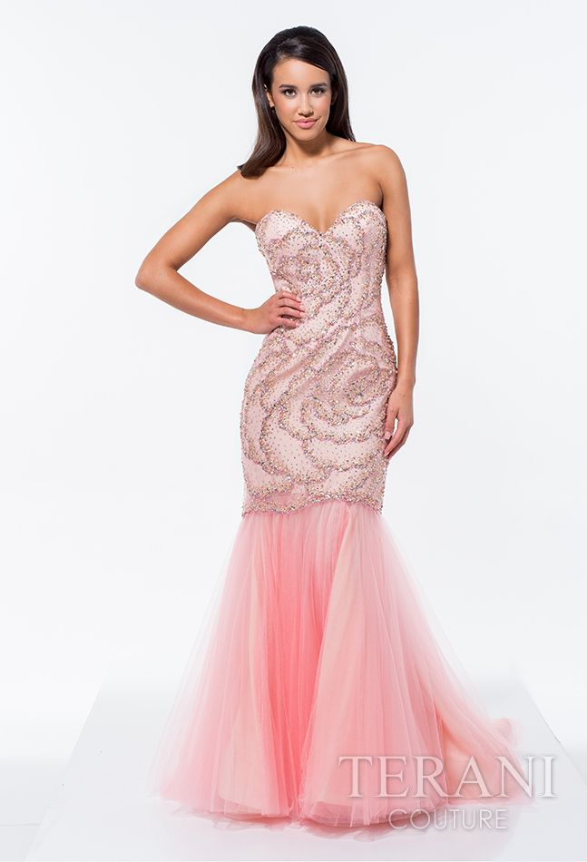 139 best Terani Prom | 2015 images on Pinterest | Ball gown ...