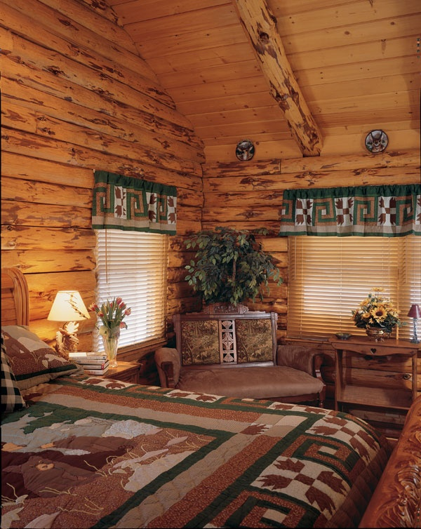 22 best window coverings trim and ideas images on for Log cabin window treatments