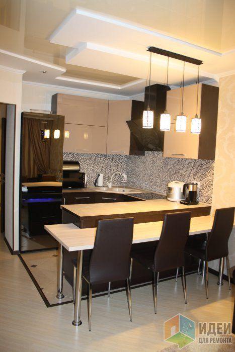 Теперь покажу вам кухню-гостиную. Кухня должна была быть по проекту совершенно в другом месте, но на ее месте мы решили сделать спальню))), а кухню объединить с гостиной.  Повезло, что за стеной ванная комната, и мы просто вклинились в те...