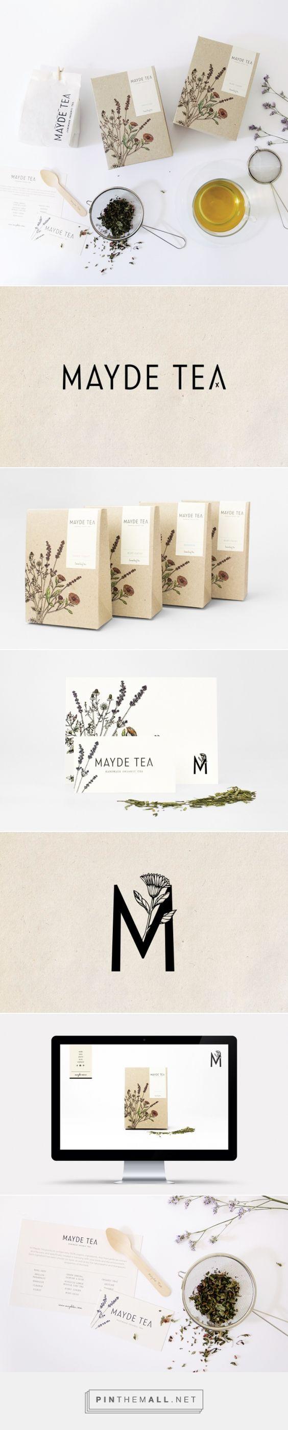 MAYDE Tea Branding and Packaging by Smack Bang Designs | Fivestar Branding –…