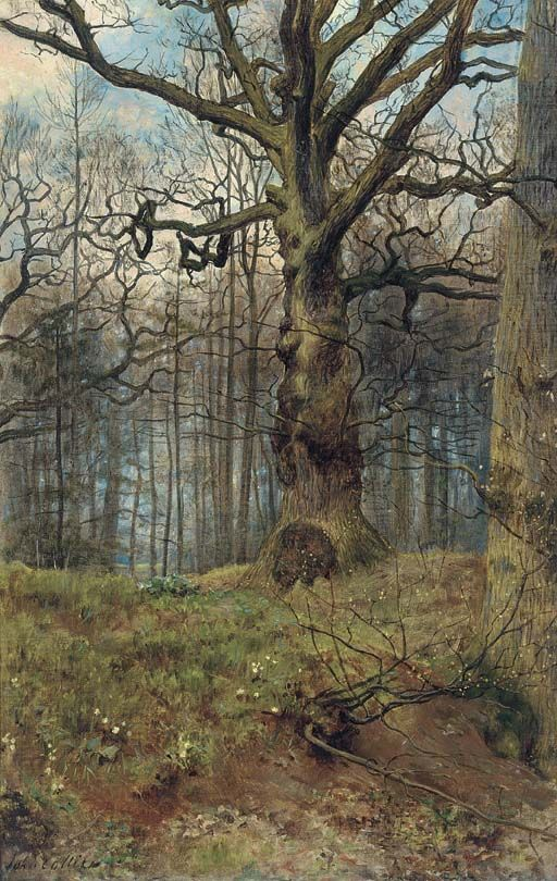 The Spring Wood - John Collier