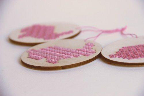 Rabbits for embroidery I mr.laser on fler.cz