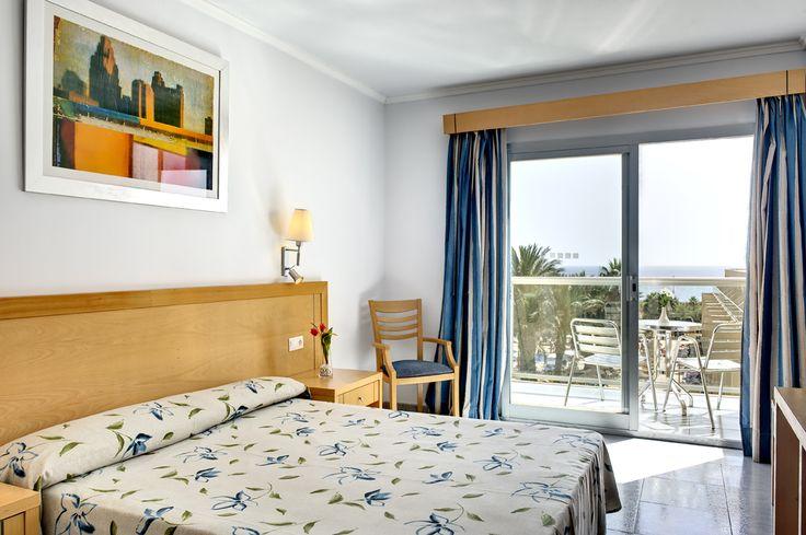 Habitación del #CabogataGarden. #GardenHotels #Almería
