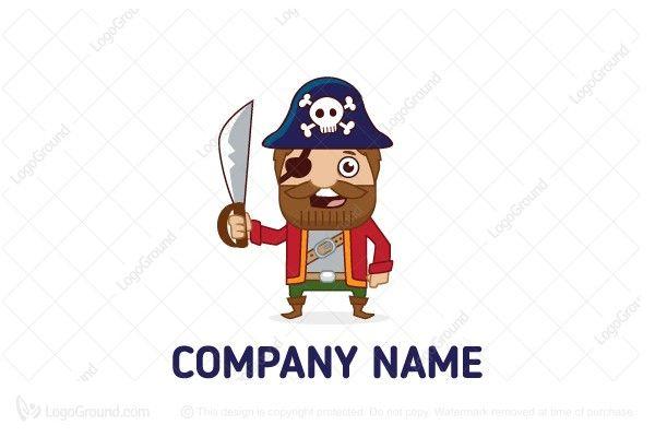 Logo for sale: Pirate Logo