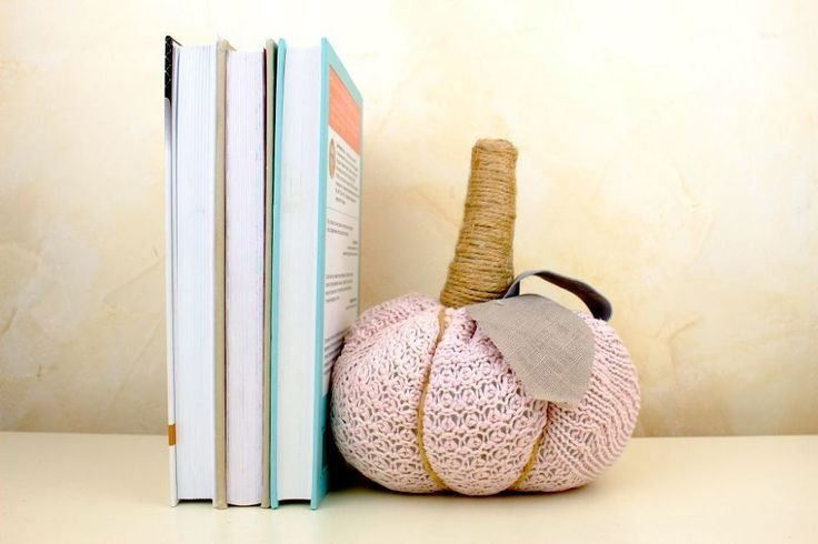 DIY Bookend/Door Stopper From Old Sweater