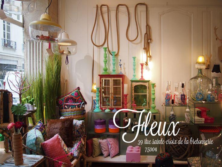 SHOP @ Fleux // lifestyle shop // 39 and 52 rue Stainte Croix de la Bretonnerie, 4th Arrondissement // flex(dot)com