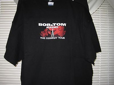 BOB & TOM RadioComedy Tour XXL Shirt Army Howard Stern ICP Bubba the Love Sponge