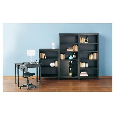Carson 5 Shelf Bookcase - Black - Threshold