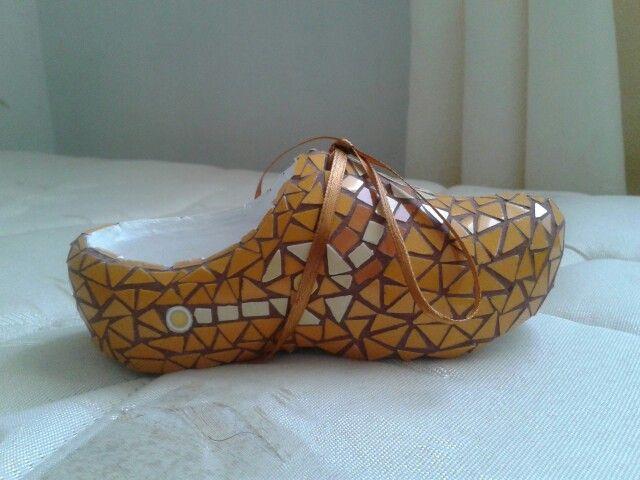 Zapato en mosaico