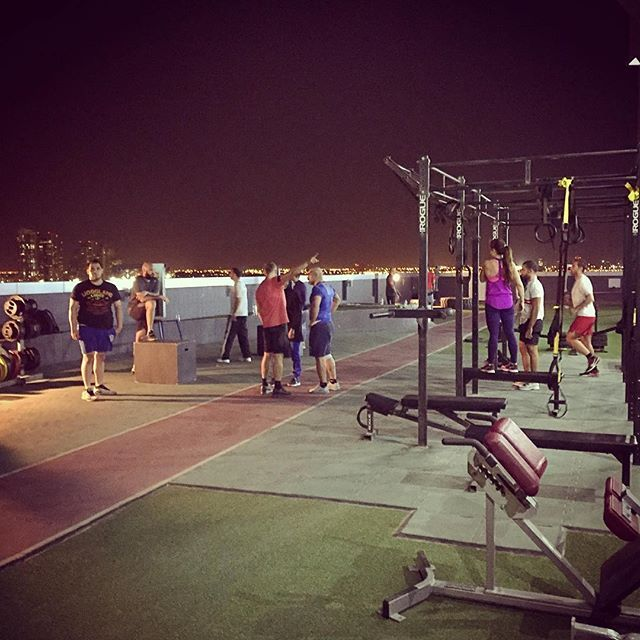 @tkmmafit  beautiful weather tonight for outdoor training! the ultimate training facility! follow:  @tam_khan website:  tkmmafit.com dubai, uae :flag_ae: #tkmmafit #workout #calisthenics #aesthetics #mma #ufc #uaefitnessmovement #dubai #mydubai #fitgirl #