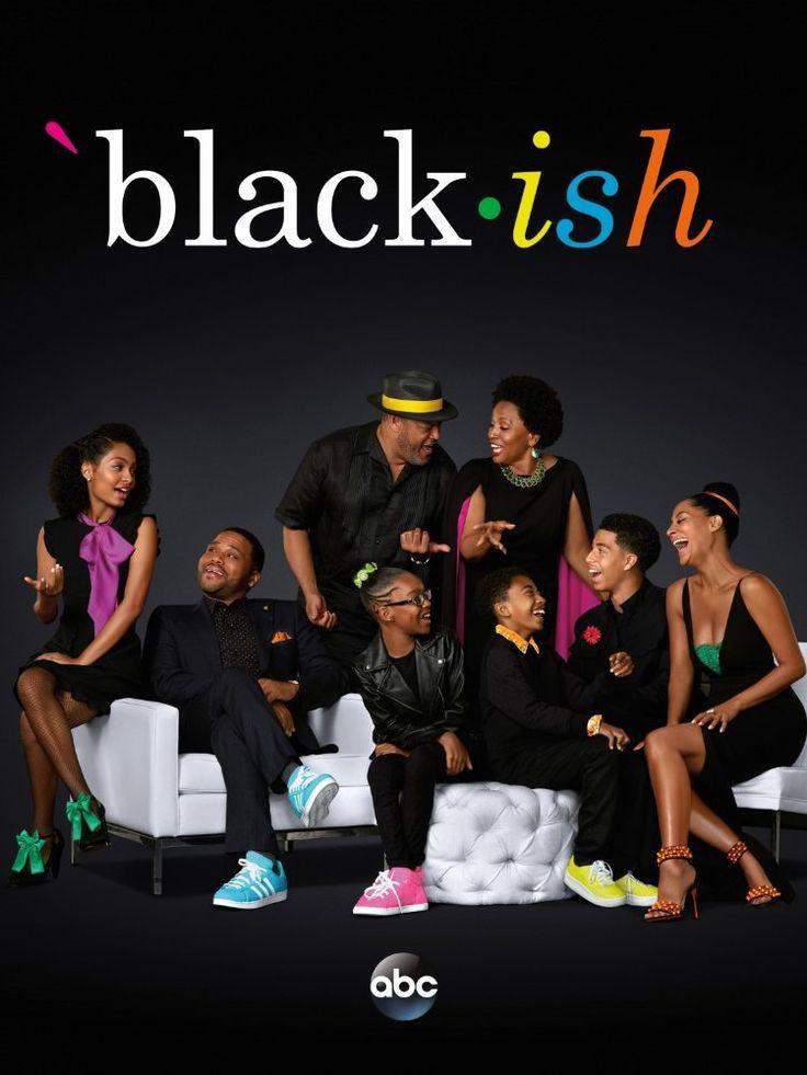 Laurence Fishburne, Anthony Anderson, Jenifer Lewis, Tracee Ellis Ross, Yara Shahidi, Marcus Scribner, Miles Brown, and Marsai Martin in Black-ish (2014)