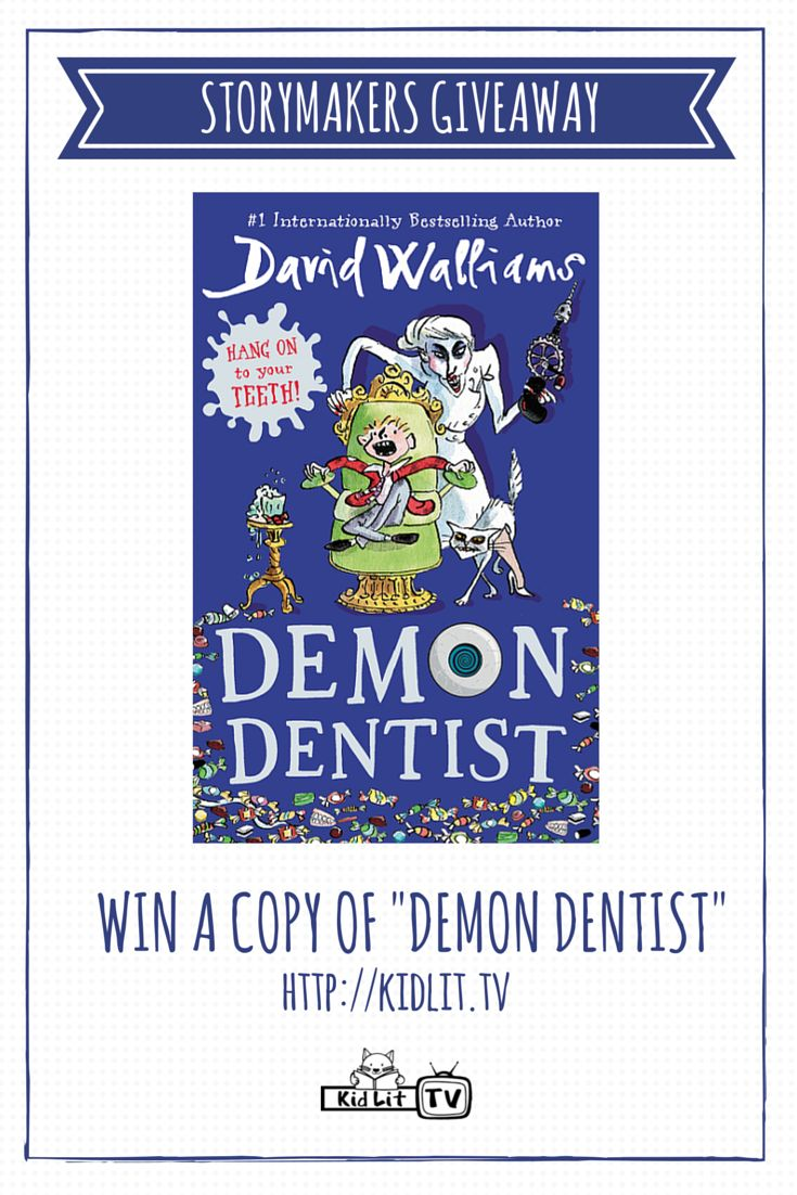 Reviews children s book review demon dentist david walliams - Win A Copy Of David Walliams Middle Grade Book Demon Dentist From Kidlit