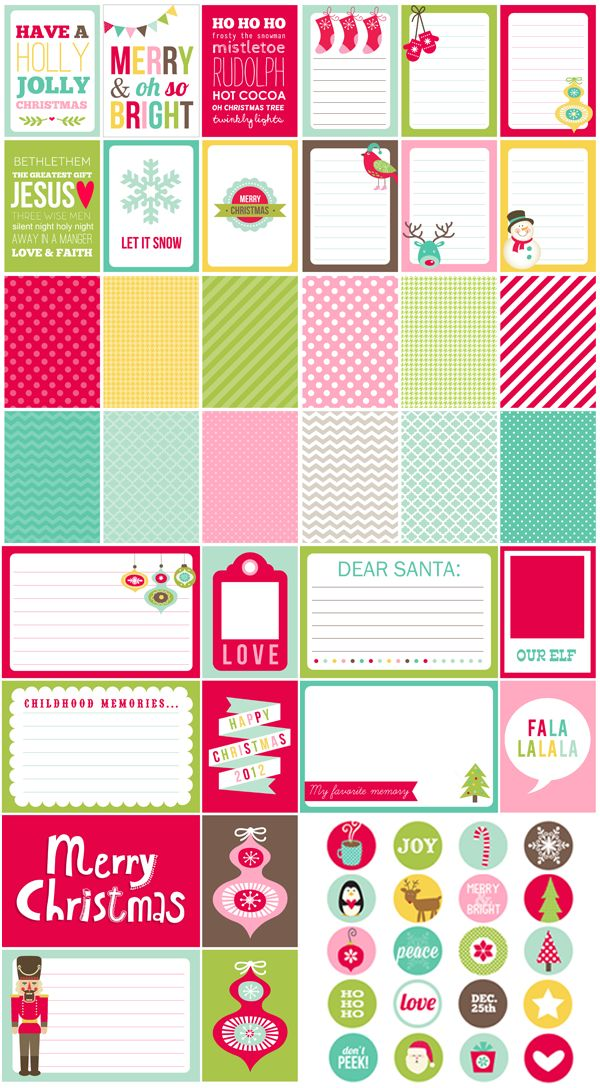 466 best Christmas - Stationary\/Printables images on Pinterest - christmas list maker printable