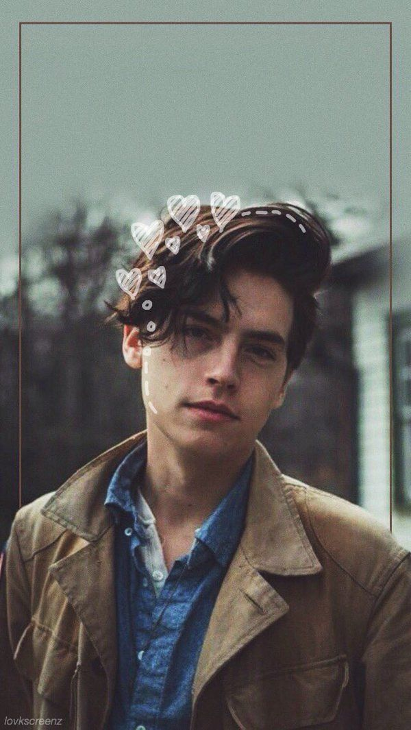 pinterest || ☽ @kellylovesosa ☾Image result for cole sprouse lockscreen