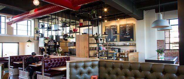 Fire Station Cafe In Roslyn, Dunedin