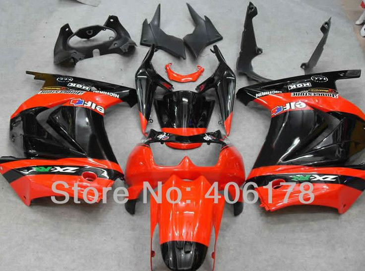 Hot Sales,Ninja 250R cheap price For Kawasaki ZX250R 2008-2012 Orange Monster Sport Motorcycle Fairings (Injection molding)