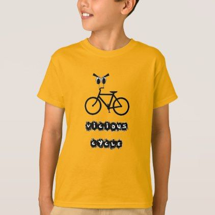 #Vicious cycle T-Shirt - #cool #kids #shirts #child #children #toddler #toddlers #kidsfashion