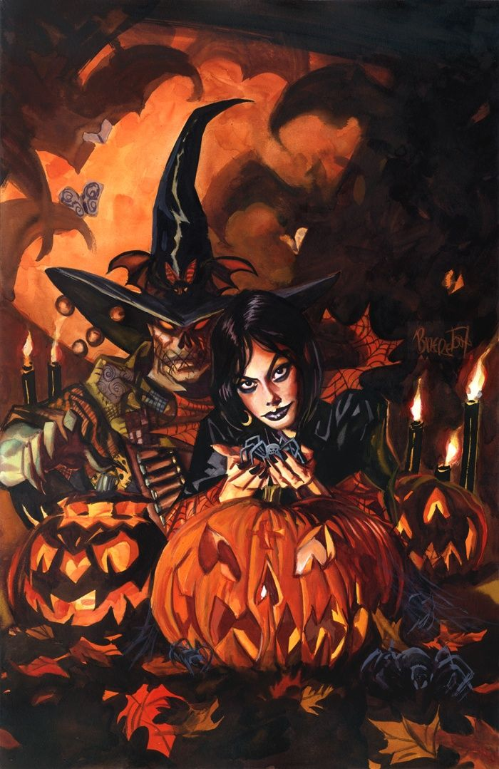 Image result for halloween artwork