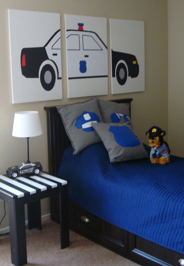 25 Best Kids Police Bedroom Images On Pinterest Kids