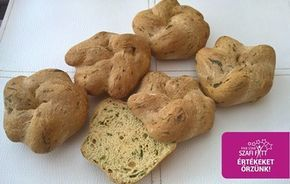 Paleo medvehagymás császárzsemle (tejmentes, gluténmentes, élesztőmentes)