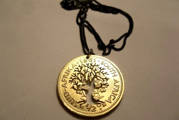The Coin Series : The Tree of Life - old RSA 1/2 cent Coin by Kallie