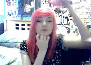 Every time I try to put on a party hat.. Or a hatty pat according to LDShadowLady lol