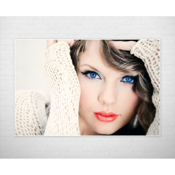 Taylor Swift Limited Edition 24x36 Poster Taylor Swift Canvas (60 AUD) ❤ liked on Polyvore featuring home, home decor, wall art, limited edition posters, canvas poster, canvas home decor, friends poster and canvas wall art