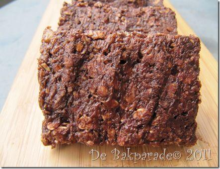 Chocolade Pindakaas Banaan Havermoutrepen Zonder Oven