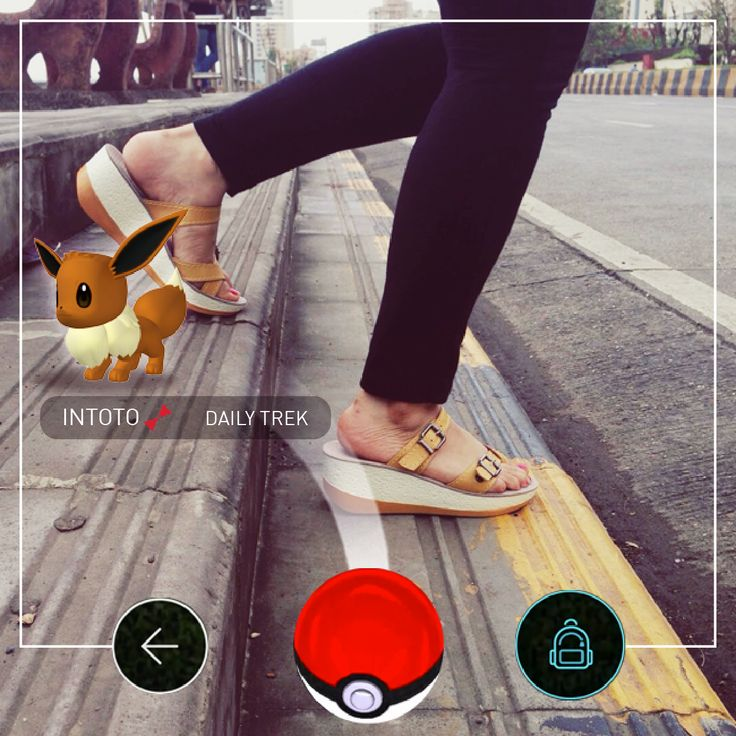 So who else is on the GO? ;) http://www.intoto.in/daily-trek-5 #eevee #INTOTOontheGO #INTOTOs #pokemonGO #pikachu #pokemon #walk #childhood #dailytrek #walkathon #search #relive #memories #90s #hideandseek #craze #trend #shoes #shoelove #shoeaddict #pokeball #games