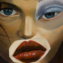 Eva    oil canvas