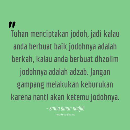 Jodoh Dari Tuhan Indonesian Quotes Pinterest Quotes Islamic