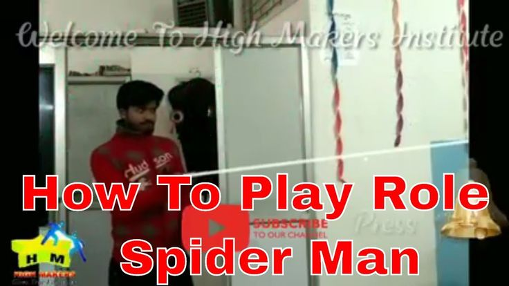Spider Man Role Play by SP Shakya  High Makers Institute 