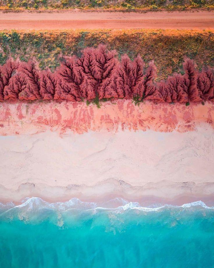 Broome coastline, Western Australia