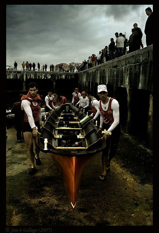 traineras: Photo by Photographer Jose A Gallego