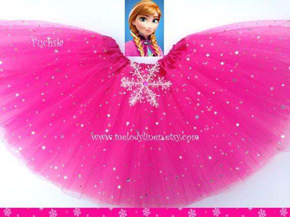VENTE-Frozen Tutu congelé anniversaire tenue par Melodylinen